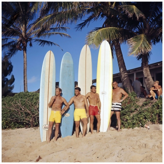 photo-leroy-grannis-greg-noll-surf-team-sunset-beach-1966